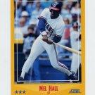 1988 Score Baseball #441 Mel Hall - Cleveland Indians