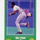 1988 Score Baseball #393 Mike Young - Baltimore Orioles