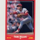 1988 Score Baseball #317 Frank Williams - Cincinnati Reds Ex