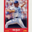 1988 Score Baseball #313 Bud Black - Kansas City Royals