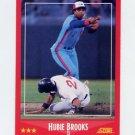 1988 Score Baseball #305 Hubie Brooks - Montreal Expos