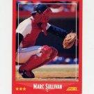 1988 Score Baseball #271 Marc Sullivan - Boston Red Sox