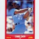 1988 Score Baseball #263 Lonnie Smith - Kansas City Royals