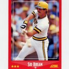 1988 Score Baseball #260 Sid Bream - Pittsburgh Pirates