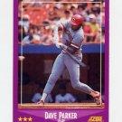 1988 Score Baseball #017 Dave Parker - Cincinnati Reds