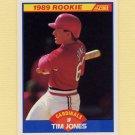 1989 Score Baseball #649 Tim Jones - St. Louis Cardinals Ex