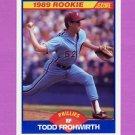 1989 Score Baseball #647 Todd Frohwirth - Philadelphia Phillies