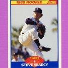 1989 Score Baseball #627 Steve Searcy - Detroit Tigers