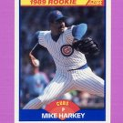 1989 Score Baseball #624 Mike Harkey RC - Chicago Cubs