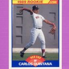 1989 Score Baseball #623 Carlos Quintana RC - Boston Red Sox