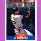 1989 Score Baseball #614 Al Pedrique - Pittsburgh Pirates