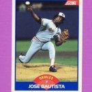1989 Score Baseball #573 Jose Bautista RC - Baltimore Orioles
