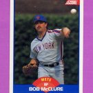 1989 Score Baseball #572 Bob McClure - New York Mets Ex