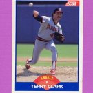 1989 Score Baseball #566 Terry Clark - California Angels
