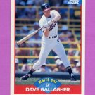 1989 Score Baseball #455 Dave Gallagher - Chicago White Sox NM-M