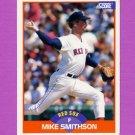1989 Score Baseball #403 Mike Smithson - Boston Red Sox
