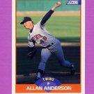 1989 Score Baseball #394 Allan Anderson - Minnesota Twins