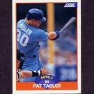 1989 Score Baseball #391 Pat Tabler - Kansas City Royals Ex