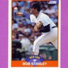 1989 Score Baseball #383 Bob Stanley - Boston Red Sox
