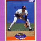 1989 Score Baseball #352 Jay Bell - Cleveland Indians