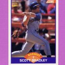 1989 Score Baseball #324 Scott Bradley - Seattle Mariners