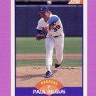 1989 Score Baseball #271 Paul Kilgus - Texas Rangers
