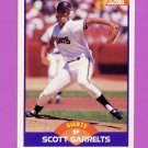 1989 Score Baseball #258 Scott Garrelts - San Francisco Giants