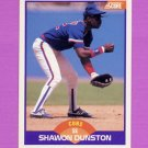 1989 Score Baseball #235 Shawon Dunston - Chicago Cubs