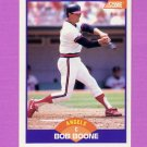 1989 Score Baseball #233 Bob Boone - California Angels Ex