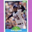 1989 Score Baseball #180 Ron Darling - New York Mets