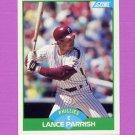 1989 Score Baseball #095 Lance Parrish - Philadelphia Phillies