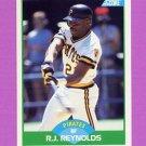 1989 Score Baseball #091 R.J. Reynolds - Pittsburgh Pirates