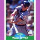 1989 Score Baseball #065 Wally Joyner - California Angels