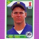 1990 Score Baseball #674 Roger Salkeld RC - Seattle Mariners
