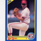 1990 Score Baseball #504 Tim Leary - Cincinnati Reds