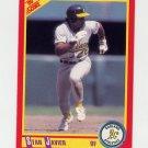 1990 Score Baseball #394 Stan Javier - Oakland A's