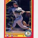 1990 Score Baseball #323 Mike Gallego - Oakland A's