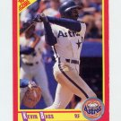1990 Score Baseball #279 Kevin Bass - Houston Astros