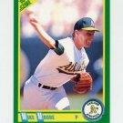 1990 Score Baseball #190 Mike Moore - Oakland A's
