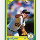 1990 Score Baseball #064 Todd Burns - Oakland A's