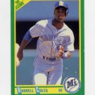 1990 Score Baseball #062 Darnell Coles - Seattle Mariners