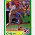 1990 Score Baseball #059 Ron Oester - Cincinnati Reds
