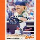 1992 Score Baseball #440 Terry Steinbach AS - Oakland A's