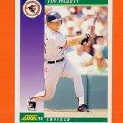 1992 Score Baseball #391 Tim Hulett - Baltimore Orioles