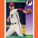 1992 Score Baseball #380 Jose DeJesus - Philadelphia Phillies