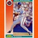 1992 Score Baseball #299 Wally Whitehurst - New York Mets