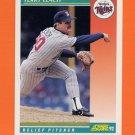 1992 Score Baseball #296 Terry Leach - Minnesota Twins