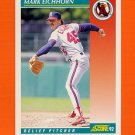 1992 Score Baseball #221 Mark Eichhorn - California Angels