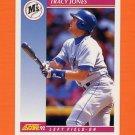 1992 Score Baseball #206 Tracy Jones - Seattle Mariners