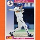 1992 Score Baseball #158 Jim Eisenreich - Kansas City Royals